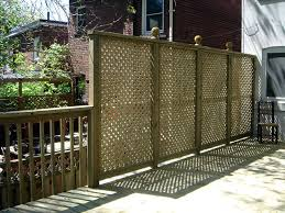 Backyard Privacy Screens by Top 25 Best Privacy Screen For Deck Ideas On Pinterest Patio