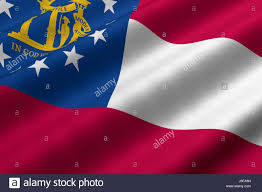 State Flag Of Georgia Georgia State Flag Stock Photos U0026 Georgia State Flag Stock Images