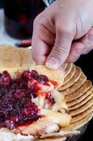 baked brie with fresh cranberries goodie godmother a recipe