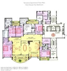 15300 sq ft 5 bhk 5t apartment for sale in ambience caitriona