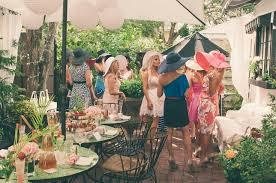 Tea Party Bridal Shower Big Floppy Hats Tea Party Bridal Shower Party Pinterest