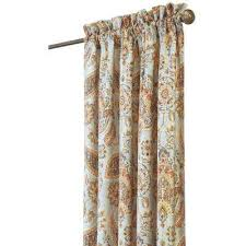 cotton curtains u0026 drapes window treatments the home depot