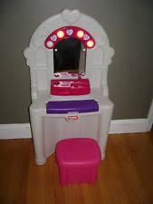 Little Girls Vanity Playset Little Tikes Vanity Ebay