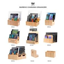 100 multi device charging station and cord organizer 100