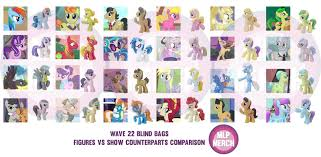 My Little Pony Blind Bag Wave 2 Exclusive Wave 22 Blind Bag Characters Revealed Mlp Merch