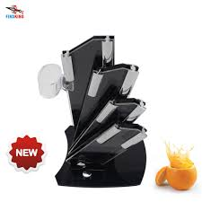 online buy wholesale kitchen knives block from china kitchen findking brand acrylic kitchen ceramic knife holder kitchen knife stand block for 3