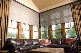 Simple Window Treatments For Large Windows Ideas Curtain Designs For Large Bay Windows Kitchen Bradley