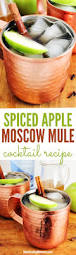 cocktail recipes vodka spiced apple moscow mule cocktail recipe home cooking memories