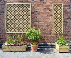 madeley lattice trellis perfect for mounting on a wall to