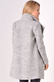 light grey wool coat only sophia wool coat in light grey iclothing