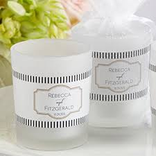 candle favors wedding favors