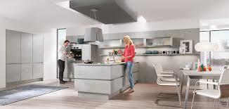 cuisines nobilia riva 892 décor gris béton cuisines designs line n sans