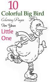 top 25 free printable big bird coloring pages online big bird