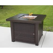 Rectangle Fire Pit Table Pleasant Hearth Rio 38