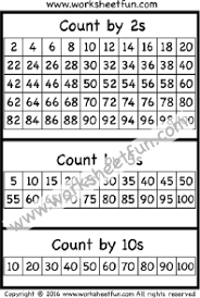 Skip Count By 2s Hundreds Chart Charts Free Printable Worksheets Worksheetfun