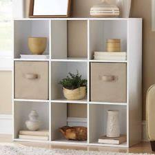 White Cube Bookcase Cube Bookcase Ebay