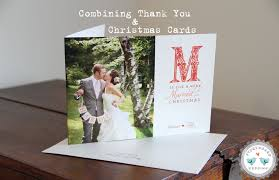 combining thank you u0027s u0026 holiday cards part 2 storyboard wedding