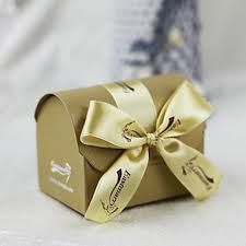 Treasure Chest Favors by Gold Treasure Chest Wedding Favors Boxes With Bowknot Set Of 12