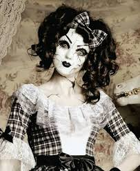 creepy doll costume images of porcelain doll mask best fashion trends and