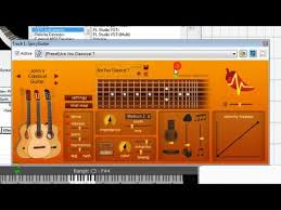 tutorial virtual guitar spicy guitar vst instrument in mixcraft how to record virtual