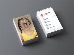 visitenkarten designer grafiker de die visitenkarte im ios 7 design