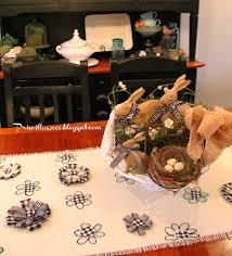 priscillas no sew diy burlap floral table runner