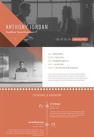 Online Resume Portfolio Examples by 15 Best Html Resume Templates For Awesome Personal Sites