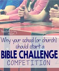 how to start a bible trivia competition in just one week teach 4