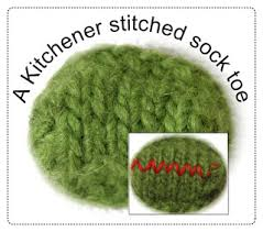 techknitting an easier way to kitchener stitch also called