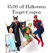 Halloween Costumes Coupons Target Mobile Coupon 5 00 Halloween Costumes Ftm