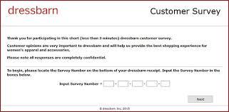 www dressbarnfeedback com dressbarn customer feedback survey