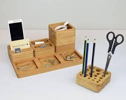 Pen Organizer For Desk Desk Organizer Personalised Gift Desk Organization Pen