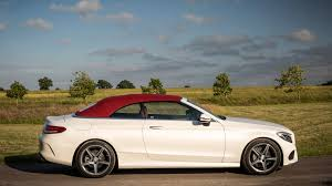 convertible mercedes mercedes c220d cabriolet 2017 review by car magazine