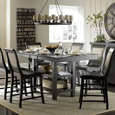 counter height dining room table with storage house interior