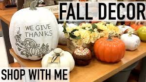 shop with me for fall decor tjmaxx fall 2017 youtube