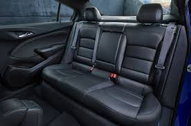 chevrolet camaro back seat 2016 chevrolet cruze is lighter and more spacious