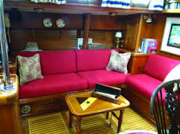 Sailboat Interior Ideas Replacing Your Boat U0027s Cushions Windcheck Magazine