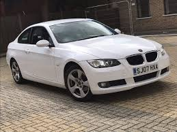 2007 bmw 320i 2 0 3 series coupe petrol manual white long mot