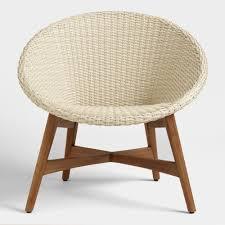 round all weather wicker vernazza chairs set 2 world market