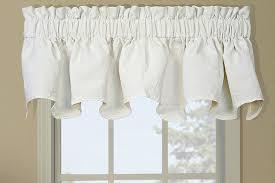 Matelasse Valance Shell Trellis Scalloped Curtain Valance Ivory Ellis