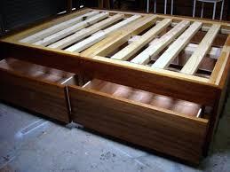 best 25 bed frame storage ideas on pinterest diy bed frame
