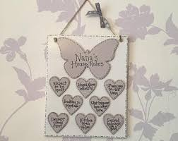 Grandparent Plaques Family Tree Plaque Tree Of Life Family Quote Personalised