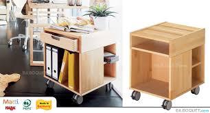 bureau haba container à roulettes pour bureau matti haba accessoires bureau