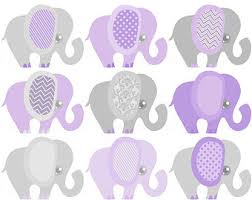 purple elephant baby shower decorations baby elephant decor clipart printable elephant baby shower