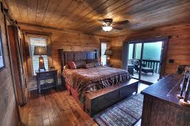 log homes interiors bedroom splendid cool cabin interiors rustic cabins attractive