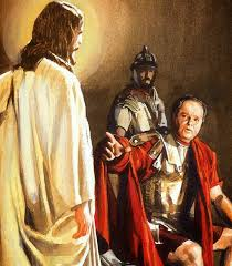 imagenes de jesus ante pilato la gaceta bíblica jesús ante pilato una óptica