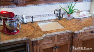 Kitchen Granite by Gold Kitchen Granite Countertops With Oak Cabinets