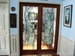 Interior Doors With Glass Panel Stained Glass Interior Doors Stained Glass Interior Doors