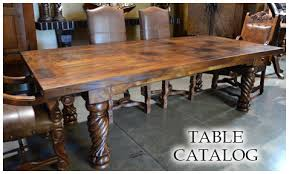 spanish dining furniture rustic dining furniture demejico