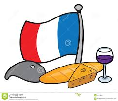 cartoon french flag clipart free clipart